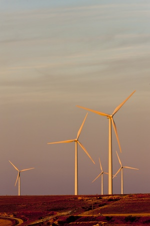 wind turbines, Castile and Leon, Spain Stock Photo - 10546415