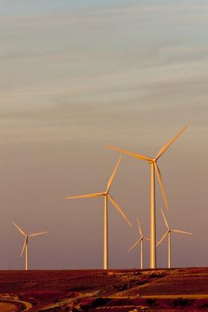 castile leon: wind turbines, Castile and Leon, Spain