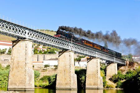 steam train in Douro Valley, Portugal Stock Photo - 10546726