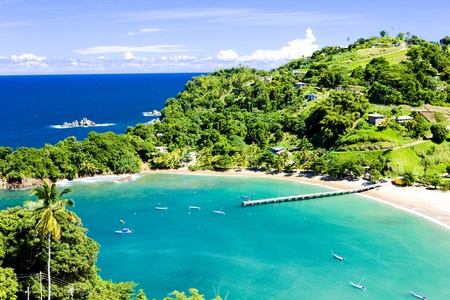 beaches: Parlatuvier Bay, Tobago
