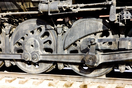 detail of steam locomotive, Colorado Railroad Museum, USA Stock Photo - 10634317