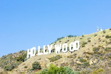 world locations: Hollywood Sign, Los Angeles, California, USA