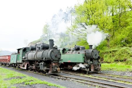 hercegovina: steam locomotives, Oskova, Bosnia and Hercegovina Stock Photo