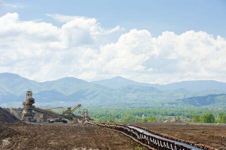 bosna: l'industria in regione Tuzla, Bosnia ed Erzegovina