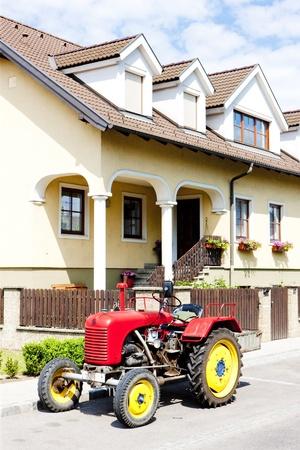 farm implements: tractor, Lower Austria, Austria