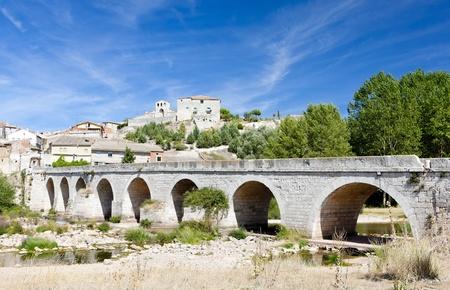 palencia province: Palenzuela, Castile and Leon, Spain Stock Photo