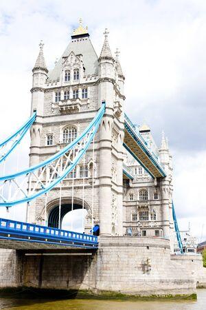 great britain: Tower Bridge, Londres, Grande-Bretagne