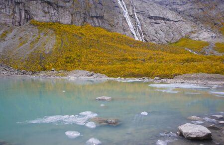falltime: landscape near Brigsdal, Norway
