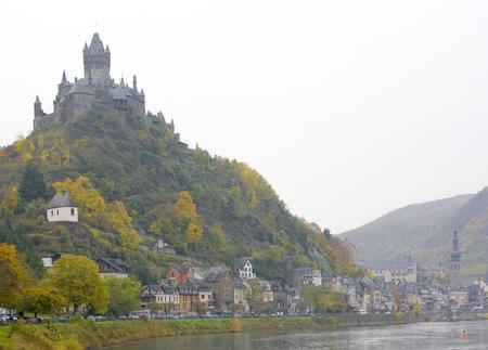 falltime: Cochem, Rheinland Pfalz, Germany