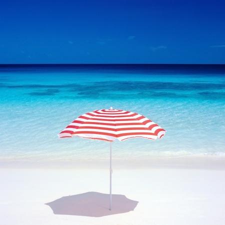 sunshades: sunshade, Petite Anse, Mahé, Seychelles