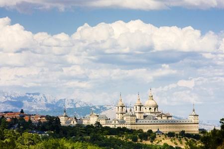 monastery, San Lorenzo del Escorial, Spain Stock Photo