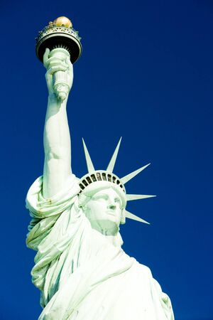 detail of Statue of Liberty National Monument, New York, USA photo