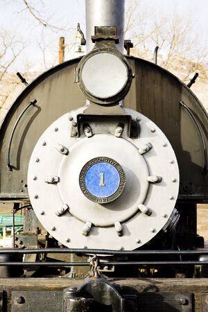 detail of steam locomotive, Colorado Railroad Museum, USA Stock Photo - 11109077
