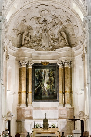 interior of Sanctuary of Our Lady of Fatima, Fatima, Estremadura, Portugal