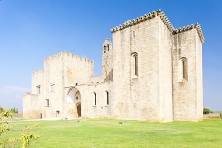 alentejo: former monastery Flor da Rosa, Alentejo, Portugal Stock Photo