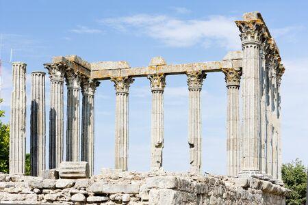 Roman temple of Diana, Evora, Alentejo, Portugal photo