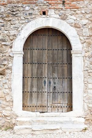 door, Viana do Alentejo Castle, Alentejo, Portugal photo