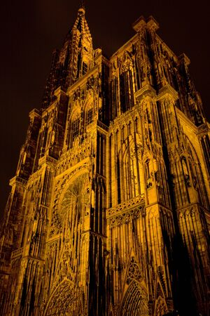 Cathedral Notre Dame, Strasbourg, Alsace, France Stock Photo - 11110657