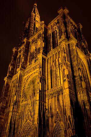 Cathedral Notre Dame, Strasbourg, Alsace, France photo