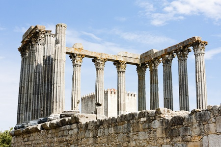 Roman temple of Diana, Evora, Alentejo, Portugal Stock Photo - 11315251