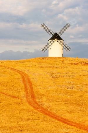 juan: windmill, Alcazar de San Juan, Castile-La Mancha, Spain
