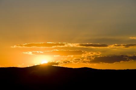 auroral: sunset