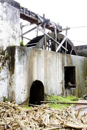 distillery: River Antoine Rum Distillery, Grenada Editorial