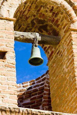 bell tower of San Jose de Tumacacori Chruch, Arizona, USA photo