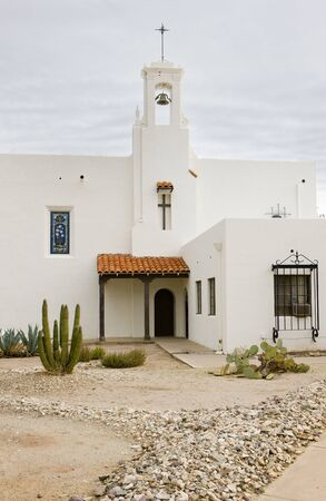 church in Ajo, Arizona, USA Stock Photo - 11349243