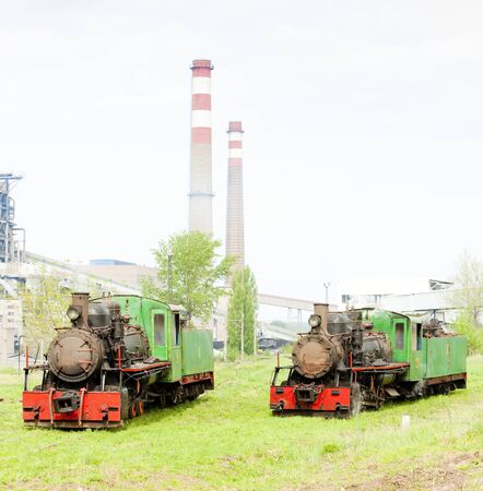steam locomotives, Kostolac, Serbia Stock Photo - 11347895