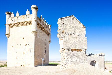palencia province: Castle of Belmonte de Campos, Castile and Leon, Spain