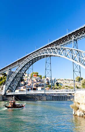 rabelo: Dom Luis I Bridge, Porto, Portugal