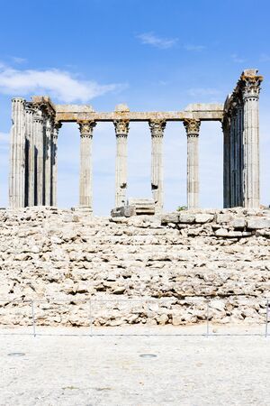 Roman temple of Diana, Evora, Alentejo, Portugal photo