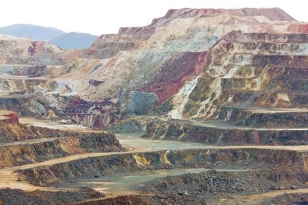 Kupfermine, Minas de Riotinto, Andalusien, Spanien Standard-Bild - 11349393