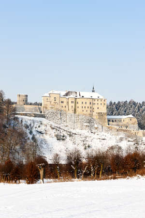 Cesky Sternberk Castle in winter, Czech Republic