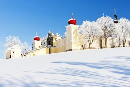Mountain of Mother of God, Kraliky Monastery, Czech Republic