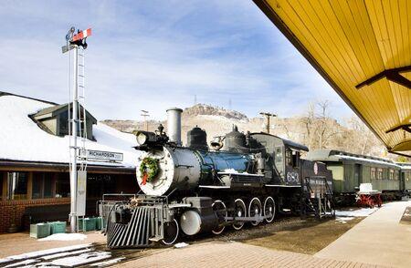 signalling device: stem locomotive in Colorado Railroad Museum, USA