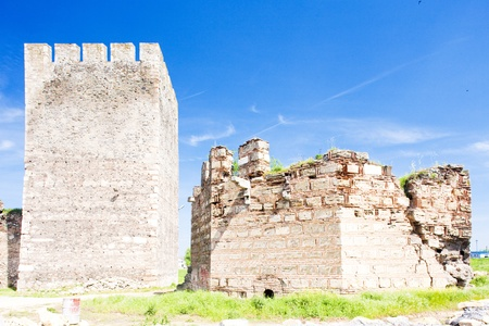 yugoslavia federal republic: Smederovo Fortress, Serbia Stock Photo