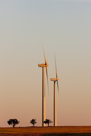 wind turbines, Castile and Leon, Spain Stock Photo - 12099611