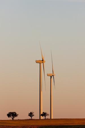 wind turbines, Castile and Leon, Spain Stock Photo - 12099611