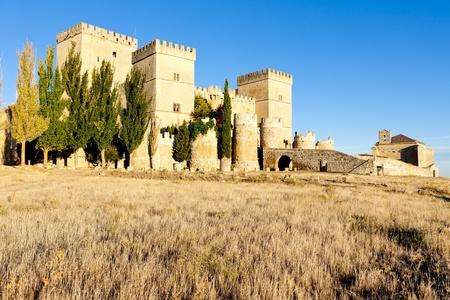 Castle of Ampudia, Castile and Leon, Spain photo