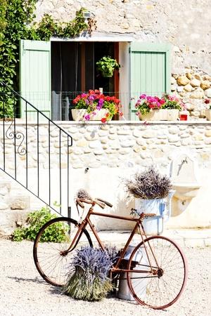 vélo, Provence, France Banque d'images