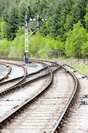 signalling device: tracks and mechanical marker