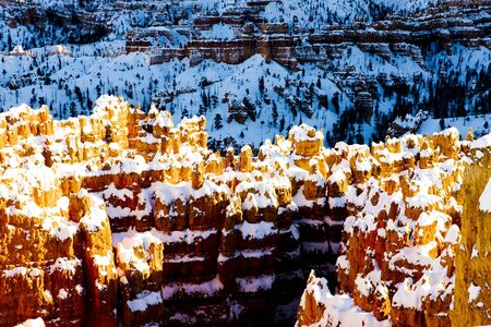 Bryce Canyon National Park in winter, Utah, USA Stock Photo - 12342470