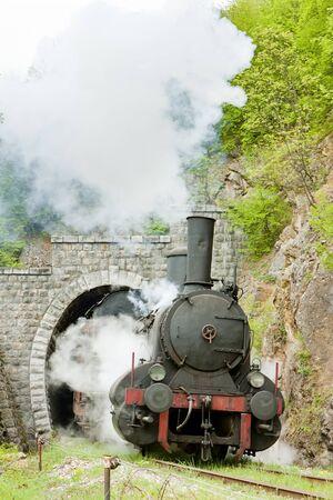 steam locomotive, Resavica, Serbia Stock Photo - 12334237