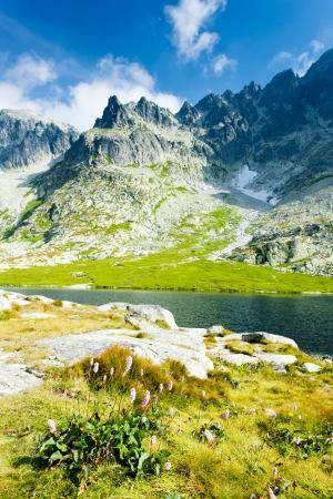 high mountains: Five Spis Tarns, High Tatras (Vysoke Tatry), Slovakia