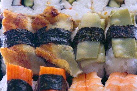 aliments: sushi Stock Photo