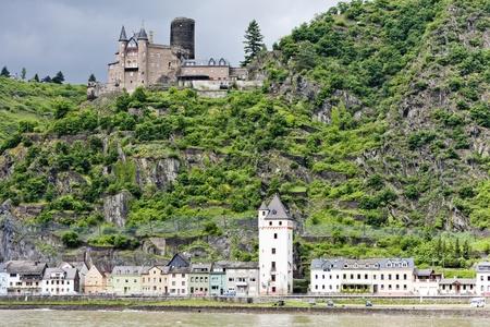 rheintal: Cutts Castle, St. Goar, Rhineland-Palatinate, Germany