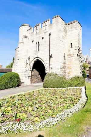 Potter Gate, Lincoln, East Midlands, England Stock Photo - 13118029