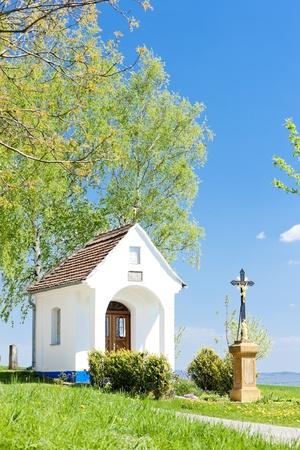 chapel with a cross, Vlcnov, Czech Republic